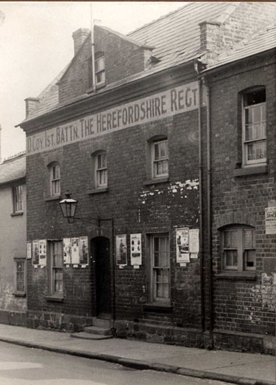 Drill Hall, New street Leominster circa 1910