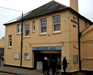 St Peters Lane Drill Hall Canterbury