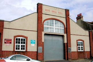 Hove - Marmion road Drill Hall - Front Elevation