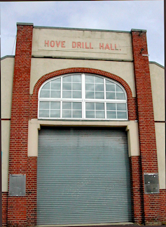 Hove - Marmion road Drill Hall - Entrance