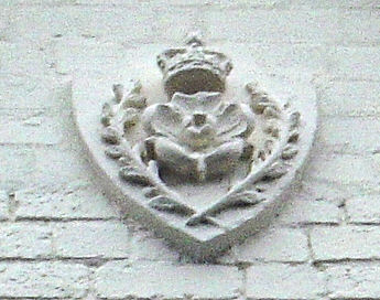 Hull - Londesborough Barracks - Close-up of Crest