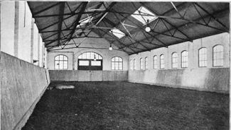 Hull - Riding School - Interior of hall