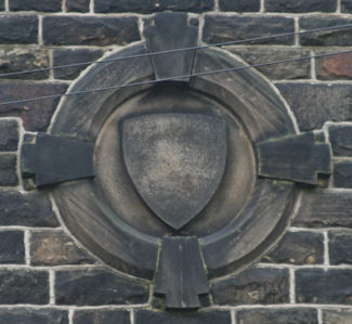 Keighley - Decorative feature in stonework