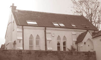 Old Wesleyan Chapel on Green road – Drill Hall from 1877 onwards. Now a house.