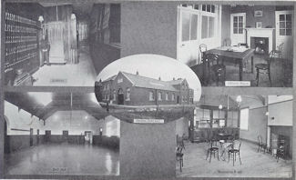 Postcard of Skelton Drill Hall