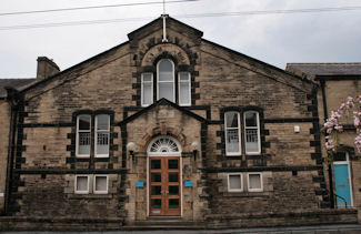 Skipton Drill Hall - Front Elevation